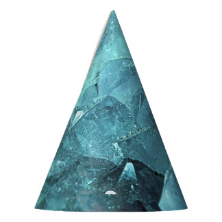 Crystal Mint Party Hat