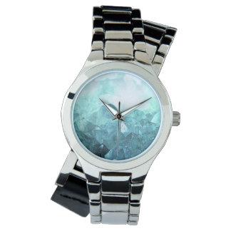 Crystal Mint Watch