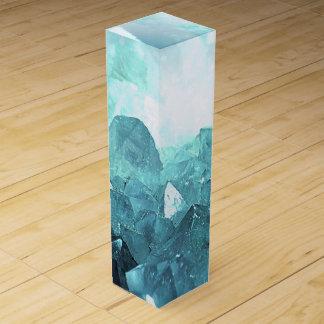 Crystal Mint Wine Gift Box