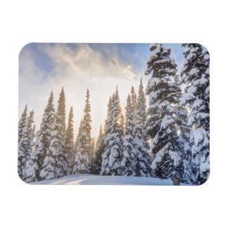 Crystal Mountain Ski Resort, near Mt. Rainier 1 Rectangular Photo Magnet