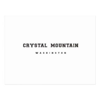 Crystal Mountain Washington Postcard
