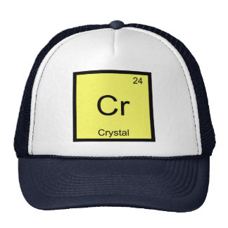 Crystal Name Chemistry Element Periodic Table Trucker Hat
