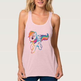 Crystal Nights Rainbow Dash Tank Top