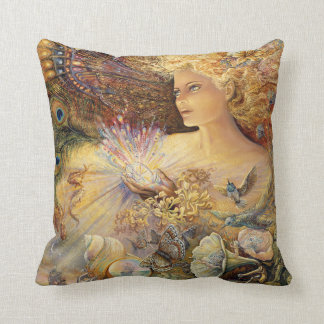 """Crystal of Enchantment"" Throw Pillow"