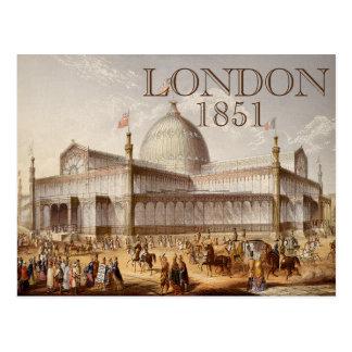Crystal Palace London World's Fair Postcard