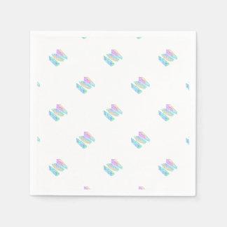 crystal paper napkin