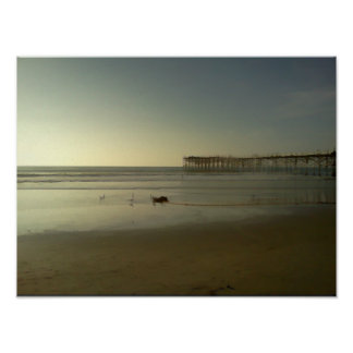 Crystal Pier Poster