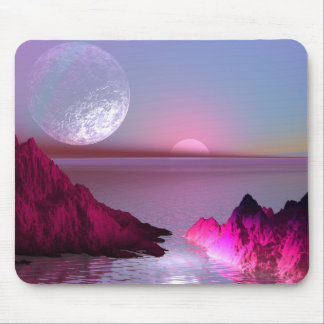Crystal Planet Mouse Pad
