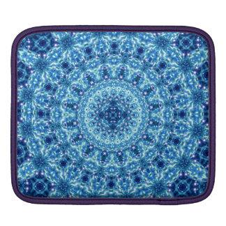 Crystal Radiance Mandala iPad Sleeves