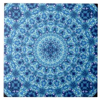 Crystal Radiance Mandala Tile