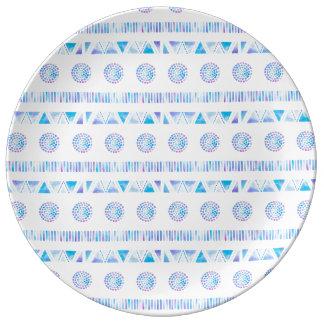 Crystal Raindrops Porcelain Plates