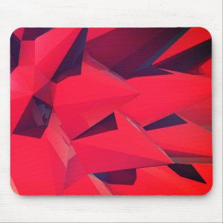 Crystal - Red Lotus II Mouse Pad