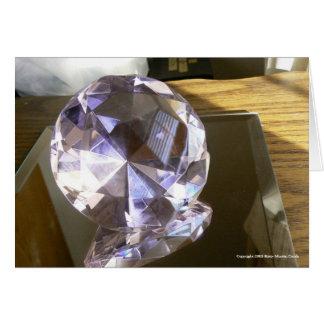 Crystal Reflection Card