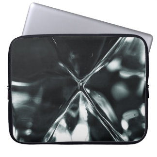 Crystal refraction laptop sleeve