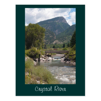 Crystal River Post Card
