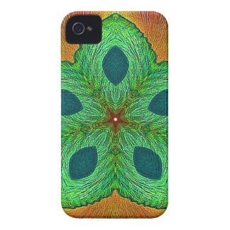 Crystal Seed Mandala iPhone 4 Case-Mate Cases