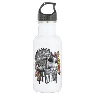 Crystal Skull Mandala 532 Ml Water Bottle