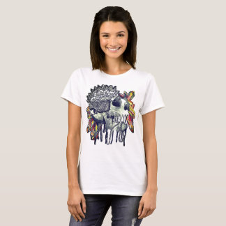 Crystal Skull Mandala T-Shirt