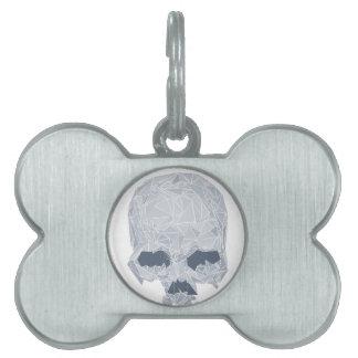 Crystal Skull Pet Tag