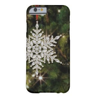 Crystal Snowflake Christmas iPhone 6 Case