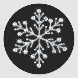 Crystal Snowflake Sticker