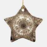 'Crystal' Star Ornament (Silver)