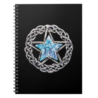 Crystal Star Spiral Notebook