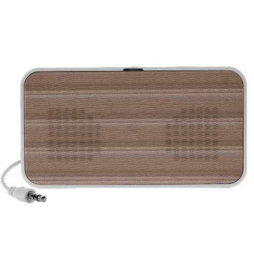 Crystal Stone Based Cream Brown Pattern NVN291 FUN Laptop Speakers