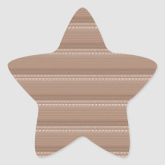Crystal Stone Based Cream Brown Pattern NVN291 FUN Star Stickers