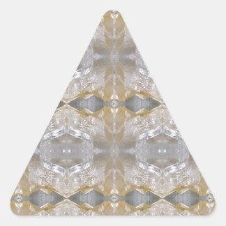 CRYSTAL Stone Jewel Healing Success FUN RT NVN468 Triangle Stickers