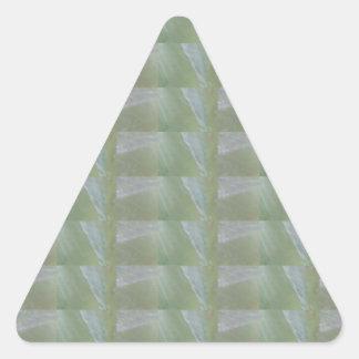 CRYSTAL Stone Jewel Healing Success FUN RT NVN471 Triangle Sticker