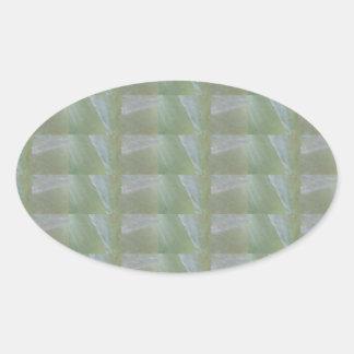 CRYSTAL Stone Jewel Healing Success FUN RT NVN471 Oval Sticker