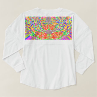 Crystal Stone Jewel pattern Spirit Jersey