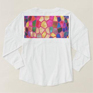 Crystal Stone Jewel pattern Spirit Jersey