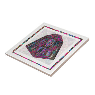 Crystal Stone Precious Healing Art Collection Tile