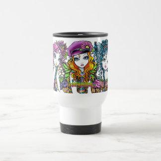"""""""Crystal, Sunny, Buttercup"""" Rainbow Fairy Mug"""