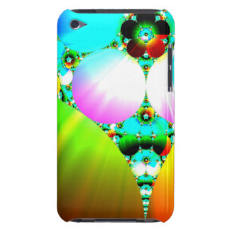 Crystal Sunrise - Abstract Fractal Rainbow iPod Touch Case