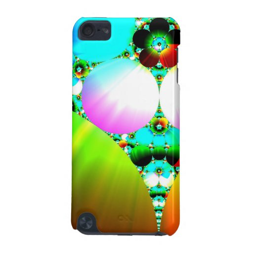 Crystal Sunrise - Abstract Fractal Rainbow iPod Touch (5th Generation) Covers