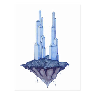 Crystal Towers Postcard