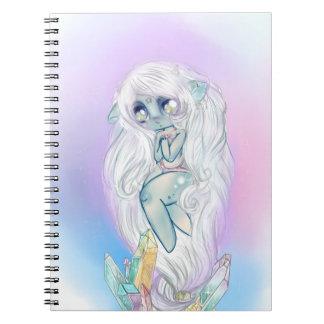 Crystal Troll Spiral Notebook