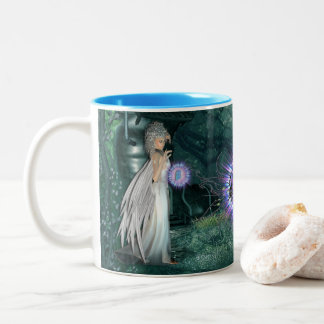 Crystal Visions Two-Tone Coffee Mug