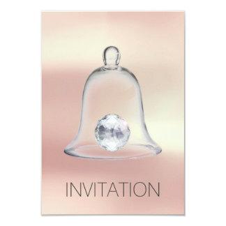 Crystal White Swarovski Club Party Vip Invitation