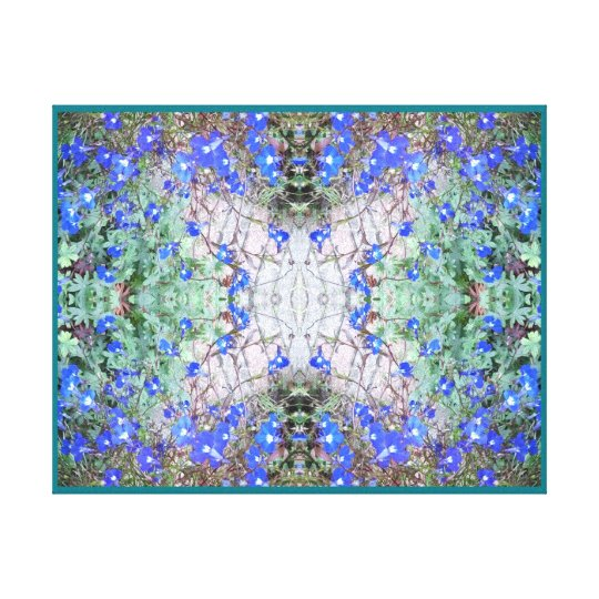 Crystal Wings - from Blue Flower - thinner canvas