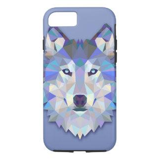 CRYSTAL WOLF Geometric Wolf Head iPhone 8/7 Case
