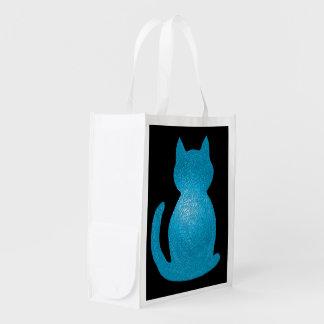 CrystalKatz Custom Cat Totes Reusable Grocery Bags