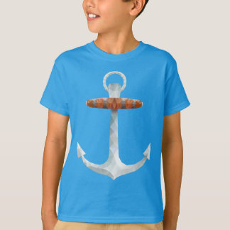 Crystallized Abstract Anchor T-Shirt