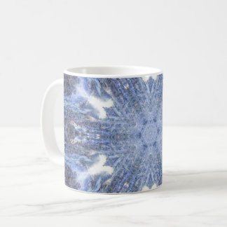 Crystallized Ocean Coffee Mug