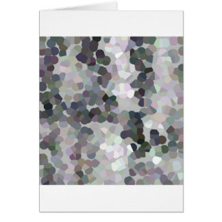 Crystallized pixel sample - crystallized pixels card