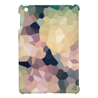 Crystallized pixel sample - crystallized pixels iPad mini case
