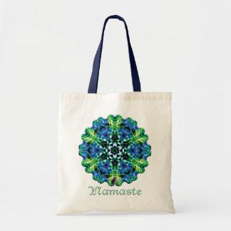 Crystalmarine Namaste Kaleidoscope Tote Bag